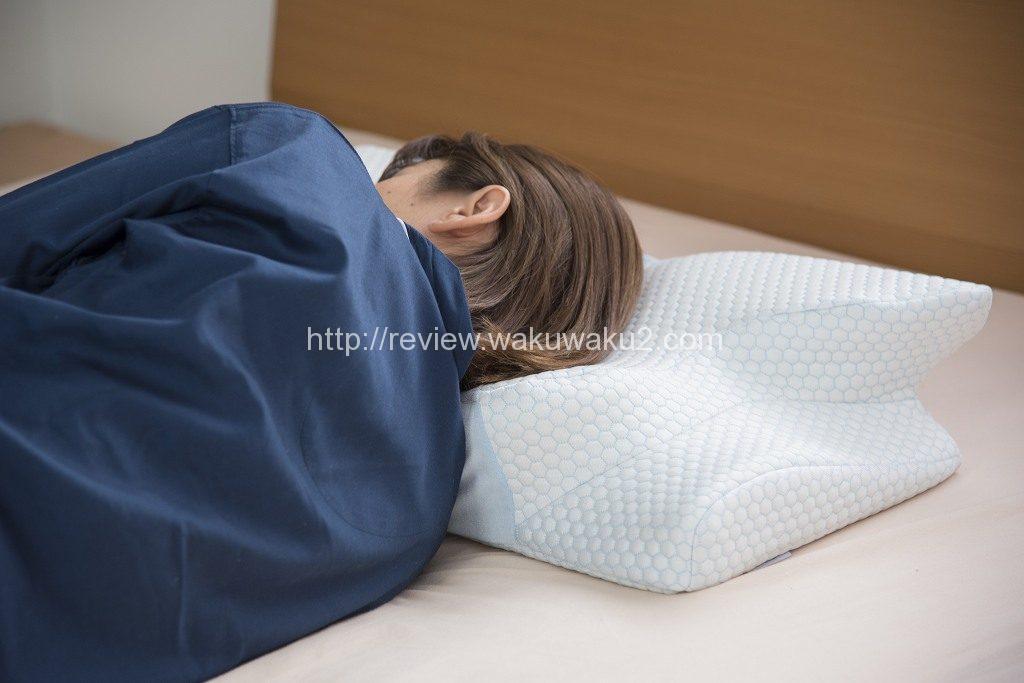 横寝 横向き まくら 腰痛改善 いびき改善