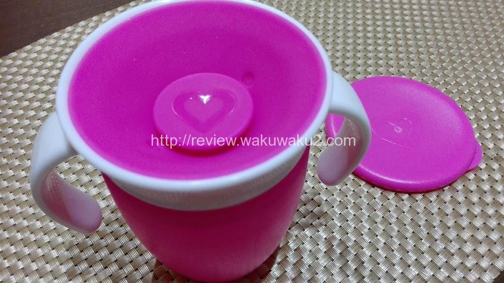 ミラクルカップ こぼれない 育児 食器2