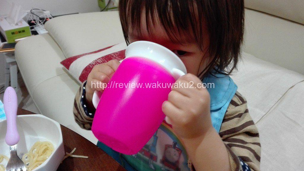 ミラクルカップ こぼれない 育児 食器 レビュー 使ってみた 2歳